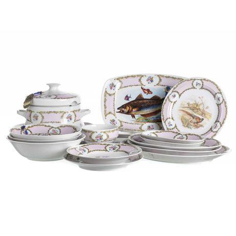 Serviço Jantar Porcelana Europeia