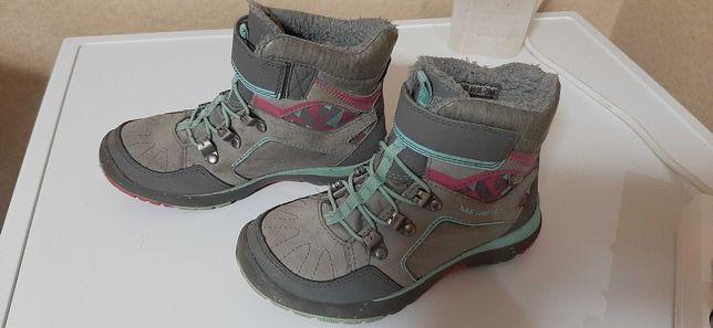 Продам сапожки осень- зима Merrell для девочки 31 размер