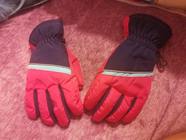 Nowe rękawiczki zimowe, wzmacniane gumą, na sanki, narty