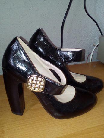 Туфли экокожа35 р