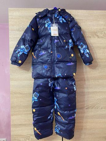 Зимний комплект куртка+полукомбинезон «Новый тренд модная коллекция»