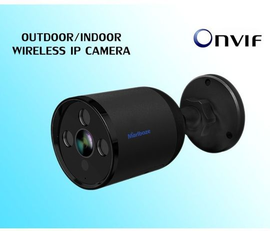 Уличная камера видеонаблюдения Marlboze M-Q1 1080P 2MP WiFi zoom 4x
