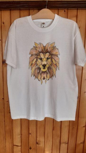 koszulka ręcznie malowana nr 8