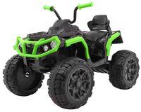 Quad ATV 2.4G Czarno-Zielony na akumulator dla dzieci z pilotem