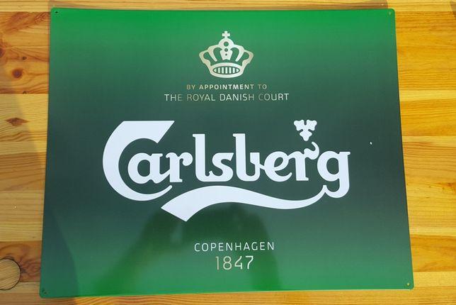 Reklama Blacha Carlsberg