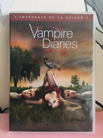 Pamietniki wampirow DVD 1 sezon francuski angielski hiszpanski