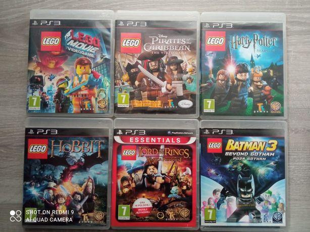 Gry PlayStation3 - sprzedam - Stan bardzo dobry LEGO, Minecraft i inne
