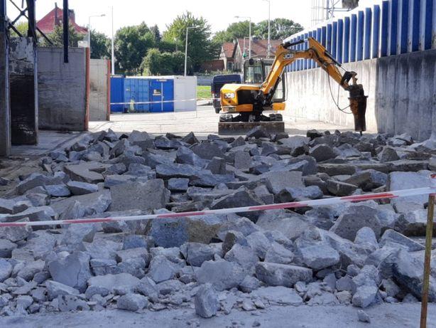 Wyburzenia Rozbiórki Kucie Betonu Roboty Ziemne