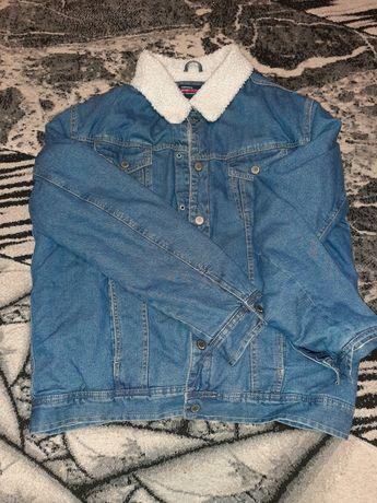 Джинсовая куртка terranova