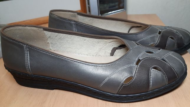 Туфли Ara  мокасины 41,5  кожа
