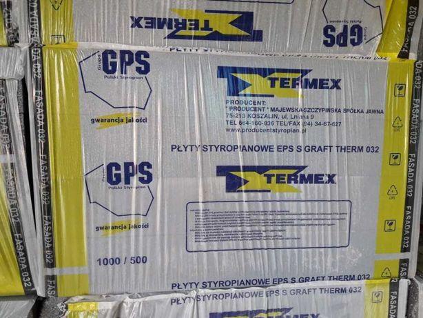 Styropian fasadowy TERMEX 15CM GRAFIT EPS032