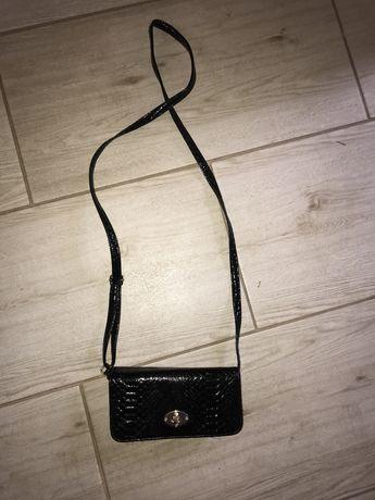 Torebka czarna mini