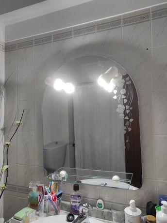 Espelho W/C com luz