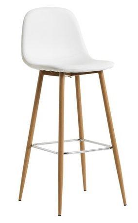 Барный стул белый jysk
