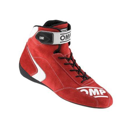 Botas de Competição OMP First S - Tam.40 - Vermelhas