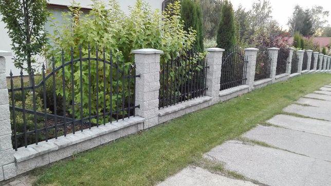 ogrodzenia , montaż paneli i siatki ogrodzeniowej