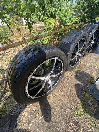Продам Диски R17 с резиной (Dunlop/Bridgestone)