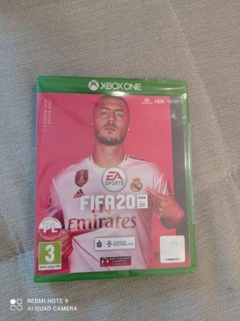 Gra FIFA 20 Xbox one. Nowa folia