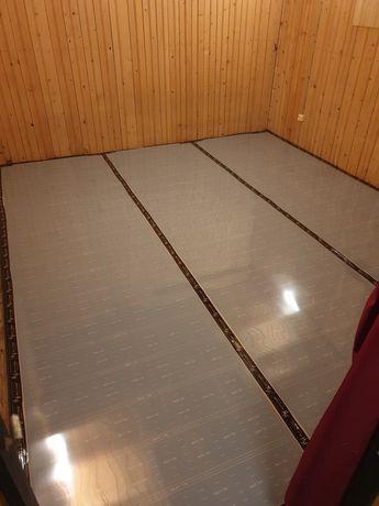 Ogrzewewanie podłogowe, usługa montażu folii grzewczej