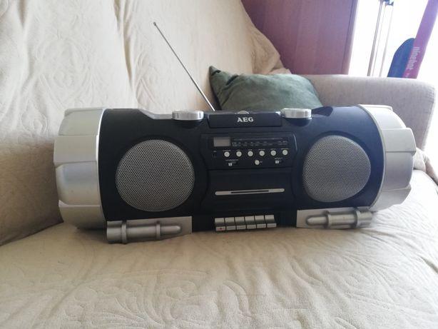 Radio CD Boombox AEG