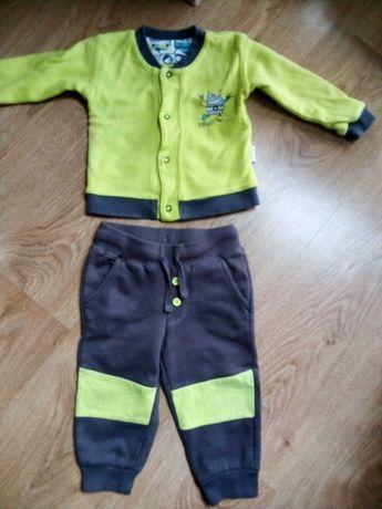 Spodnie dresowe i bluza r. 74/80