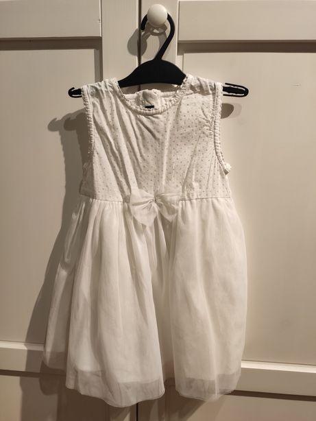 Biała sukienka Blue Seven