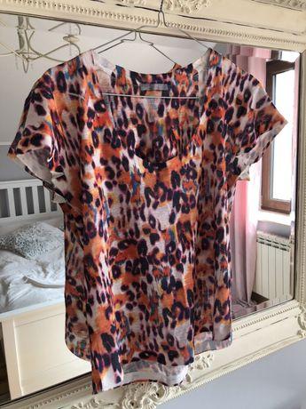 Bluzka Zara S panterka kolorowa
