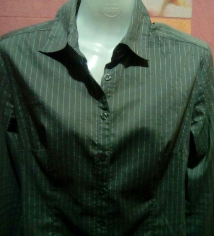 Рубашка М H&M Стреч-Cotton Бренд Распродажа