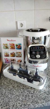 Robot de Cozinha Moulinex Cuisine Companion - Branco e Cinzento