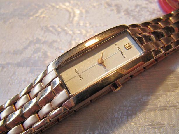 Часы ROMANSON Романсон RM 3596L женские,кварцевые,новые,механизм RONDA