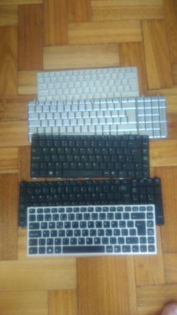 Teclados para portátil (para peças) - Vários modelos - 3 EUR cada