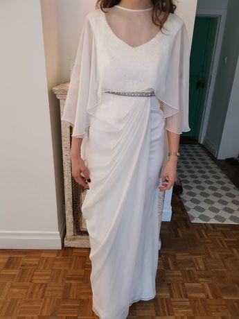 Hiszpańska suknia ślubna Sonia Pena styl empire Rozmiar S nowa