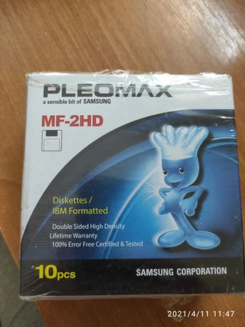 Дискеты Pleomax MF-2HD