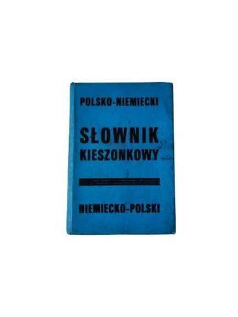 Słownik kieszonkowy polsko-niemiecki niemiecko-polski