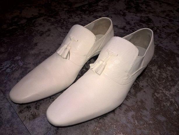 Туфли мужские белые, 43