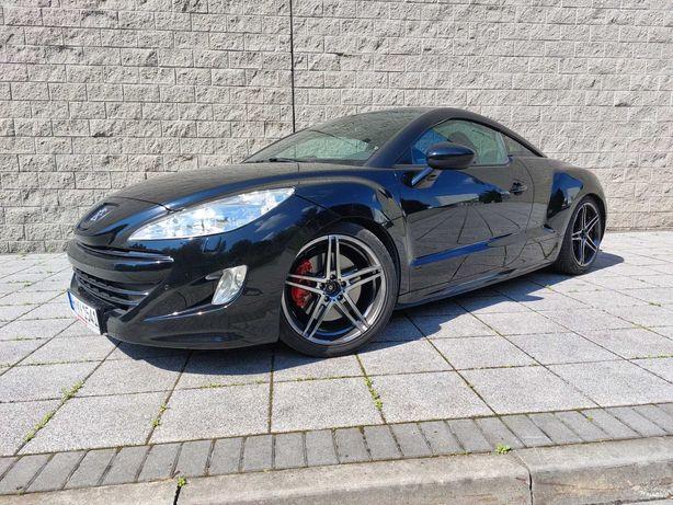 Peugeot rcz 1.6 200km najbogatszy bose android kamera deska skóra