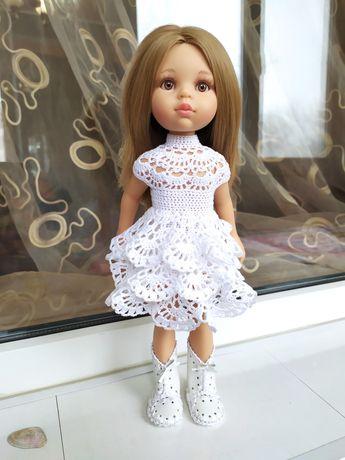 Красивое нарядное платье для куклы Паола Рейна, Антонио Хуан