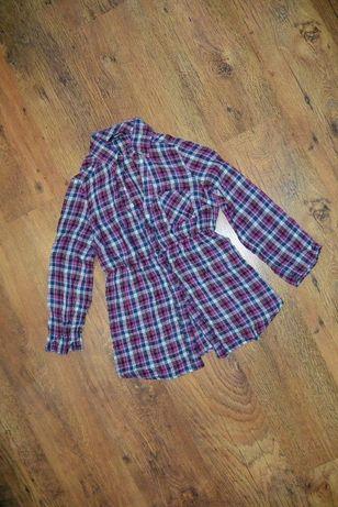 Блузка рубашка Tally Weijl 158-164р. клетка