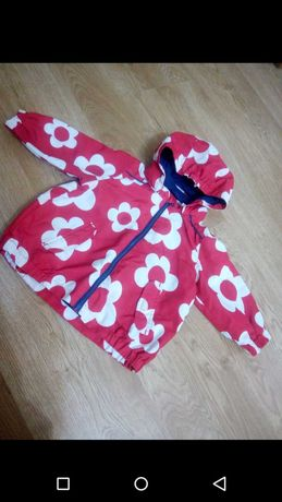 Куртка ветровка р 80 1-2 годика для девочки