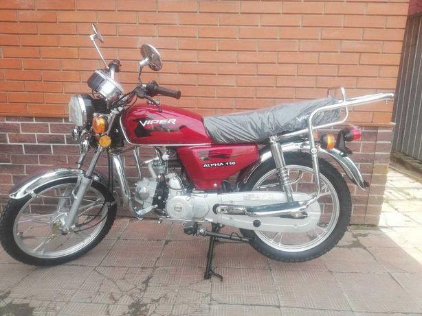 Мопед Viper V110-A ALPHA вайпер альфа мотоцикл