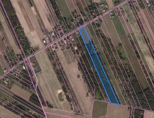 Działka budowlana 2000m2 na sprzedaż Nowe Mostki okolice Sochaczewa