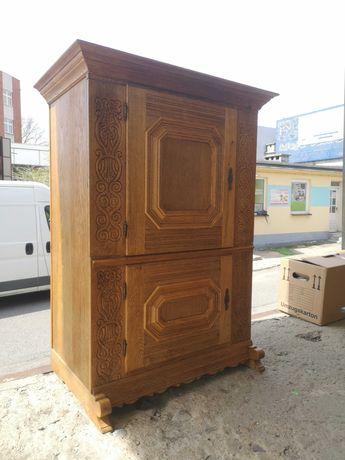 Drewniana komoda Stylowa szafa - bielizniarka z Niemiec DOWÓZ DO DOMU