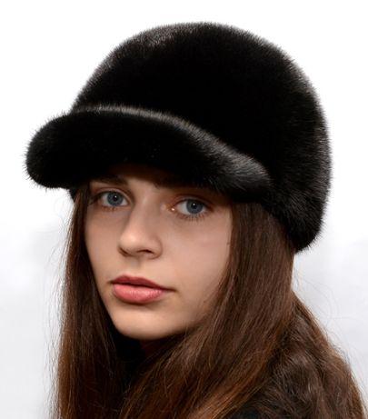 Женская норковая кепка/бейбсолка