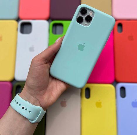 Силиконовый чехол на Iphone айфон 8 7 11 PLUS XR MAX Xs pro SE 5 6 12