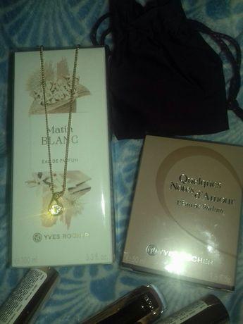 Продам Подарочный набор помада парфюм украшение Сваровски мешочек нове