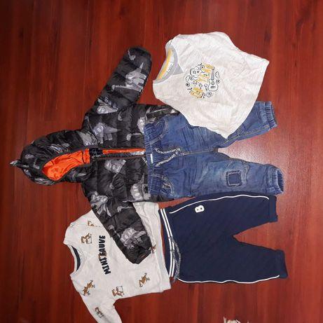 Куртка next, комплект осінній для хлопчика next, tape a loeil 9-12m