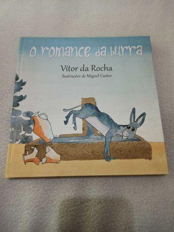 Livro O romance da burra
