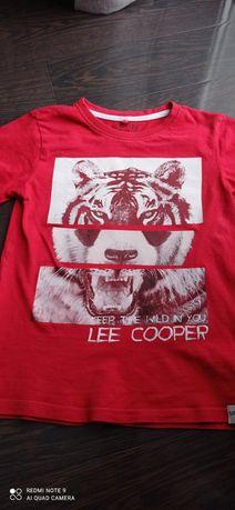 T-shirt czerwony. Lee Cooper.