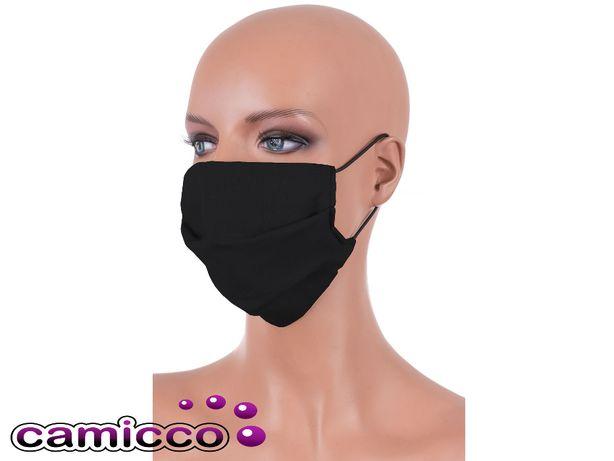 MASECZKA maska z KIESZONKĄ DWUWARSTWOWA wiele prań wielorazowa