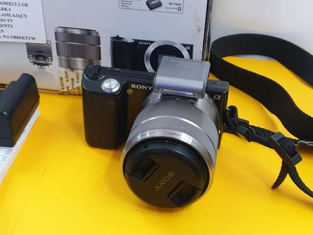 Aparat Sony NEX-5 z pudelkiem _ SKLEP STRUMIEŃ